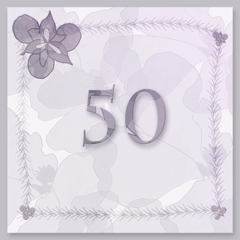 50 jaar in lila 1