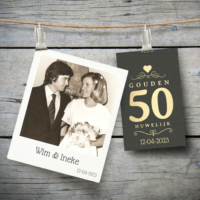 50 Jaar jubileum uitnodiging
