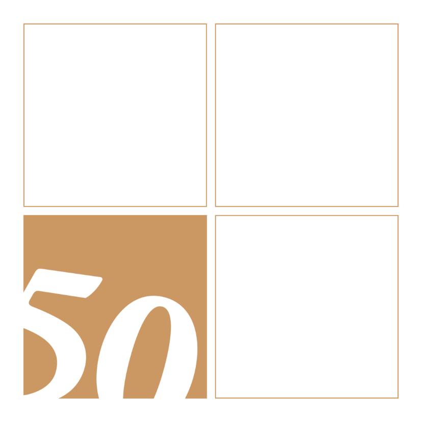 50 jaar uitnodiging blokken 1