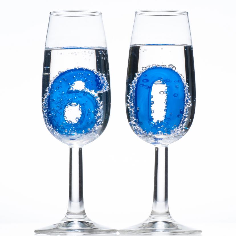 60 in champagne glazen 1