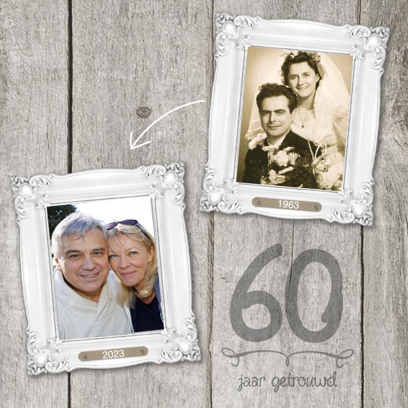 60 JAAR jubileumkaart 1