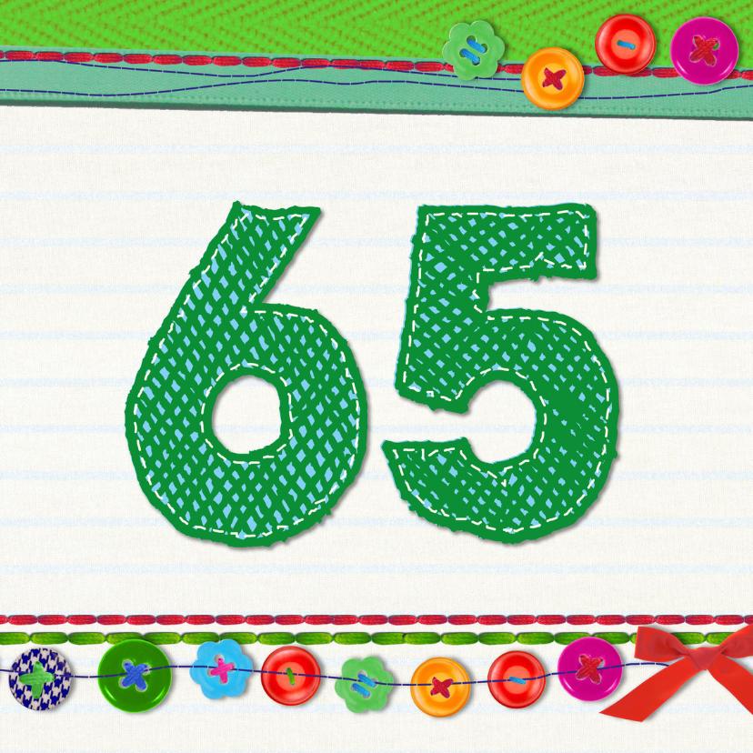 65 jaar verjaardag -BF 1