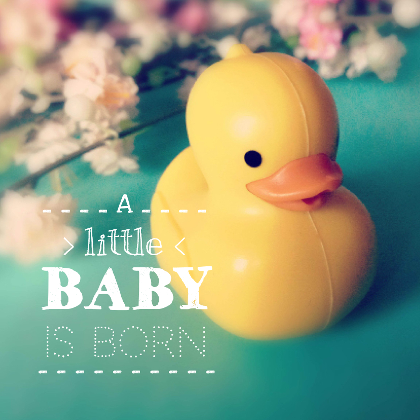 A little baby is born 1