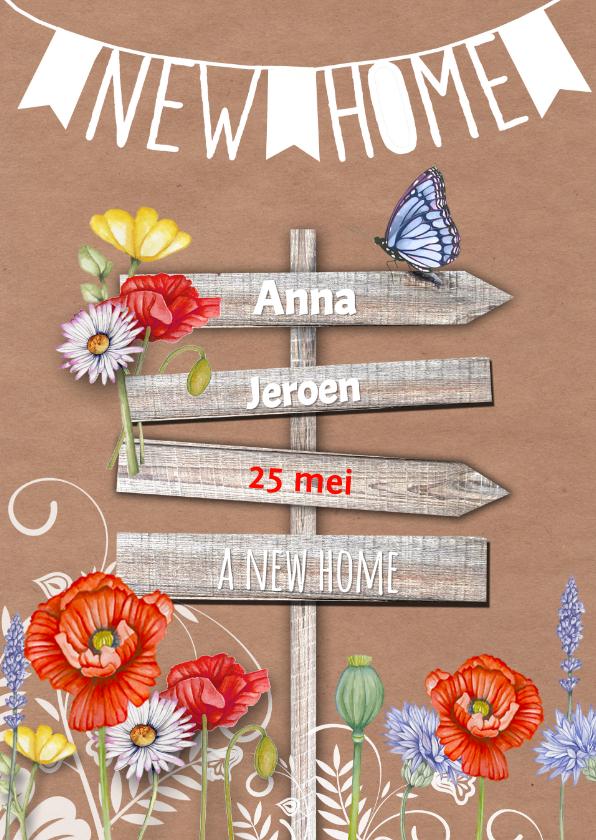 A New Home wegwijzer 1