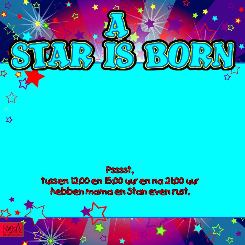 A star is born JONGEN sterren 2
