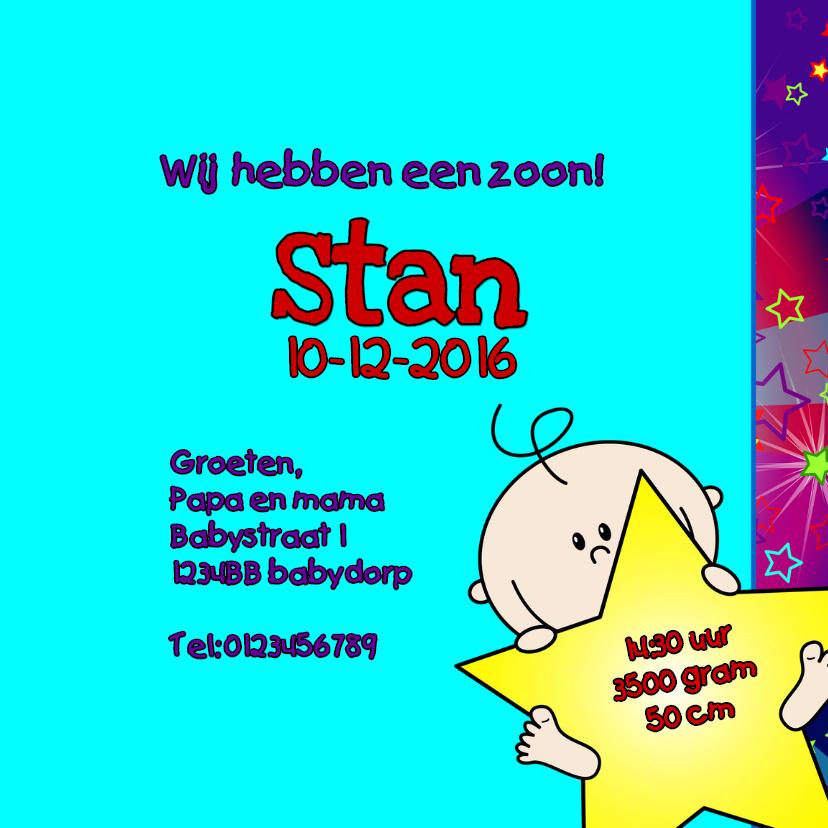 A star is born JONGEN sterren 3