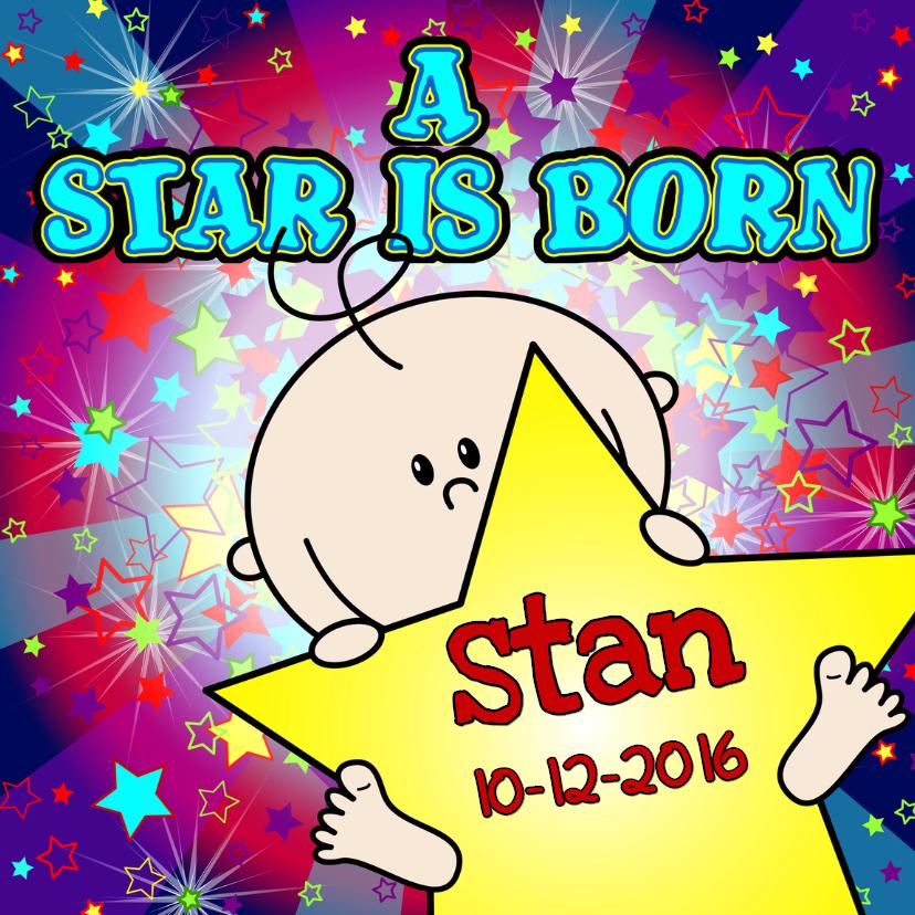 A star is born JONGEN sterren 1