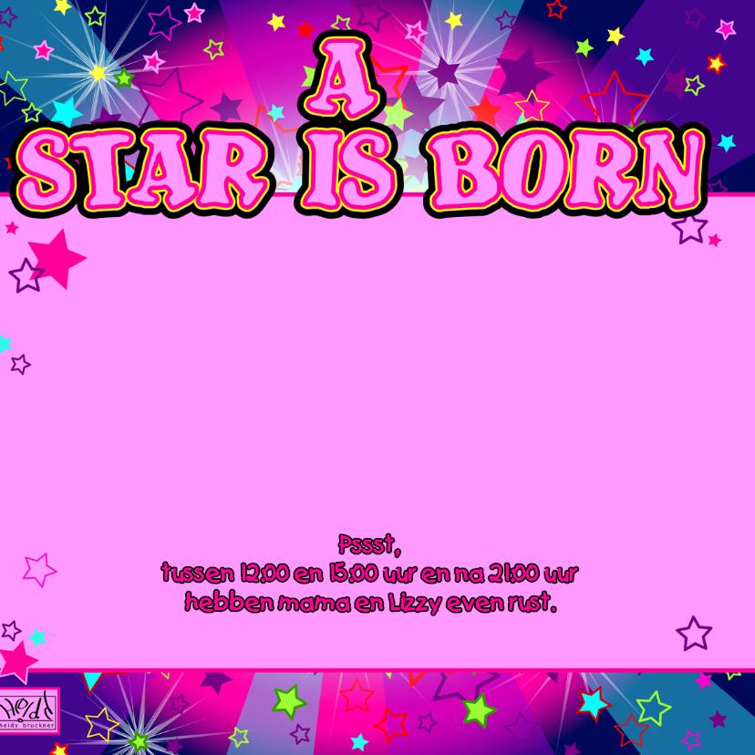 A star is born MEISJE sterren 2