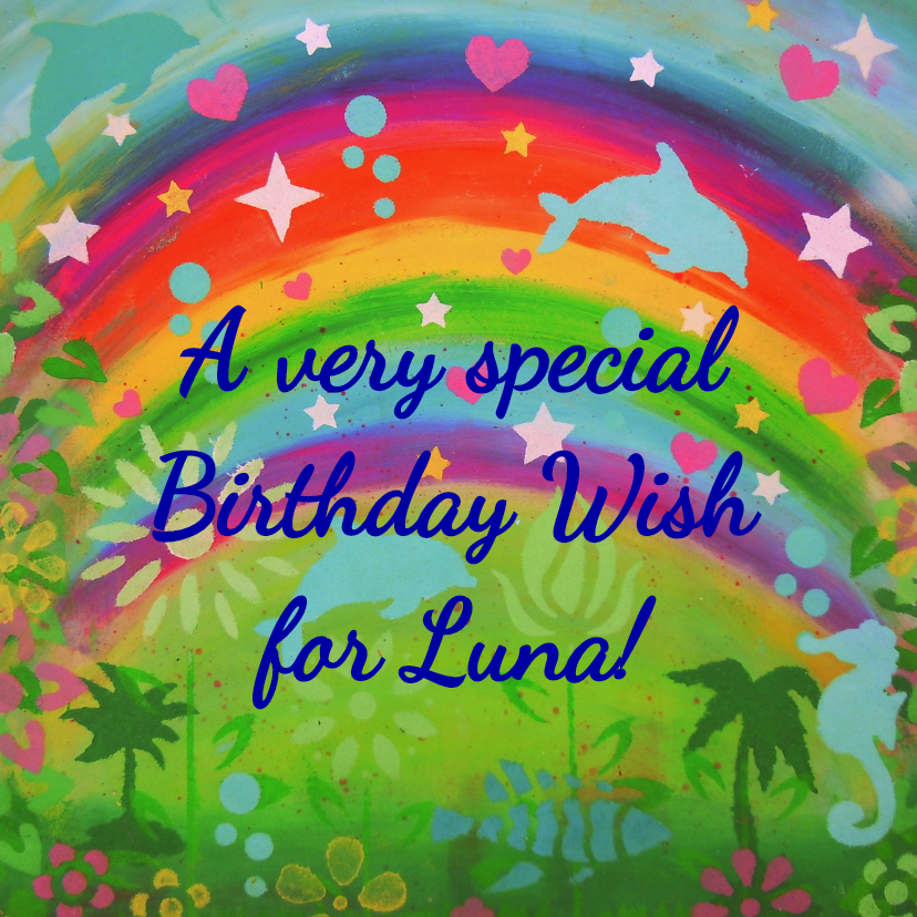 A very special wish for you 1