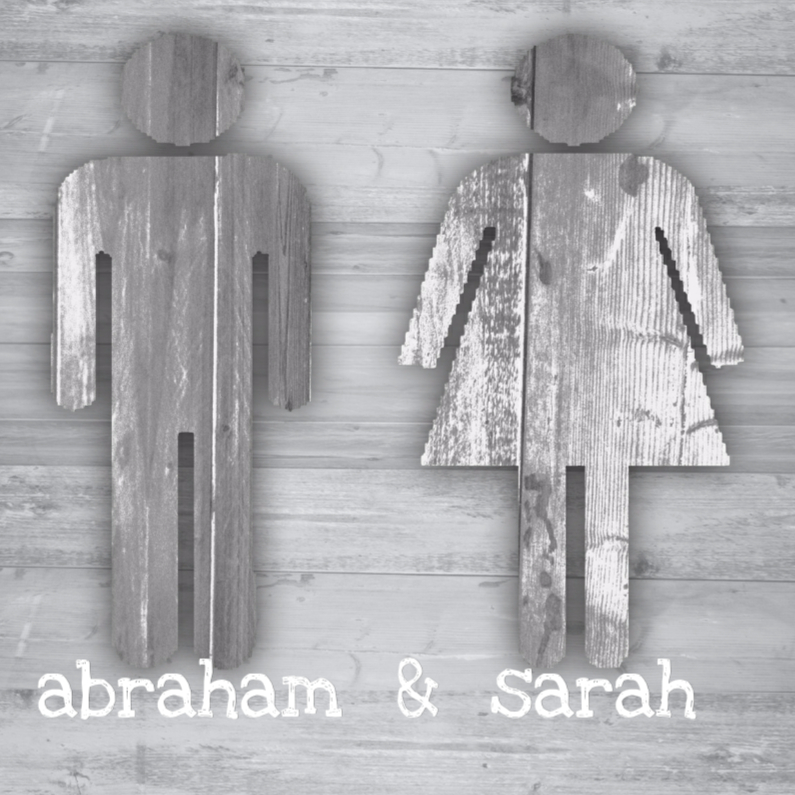 abraham en sarah hout 1