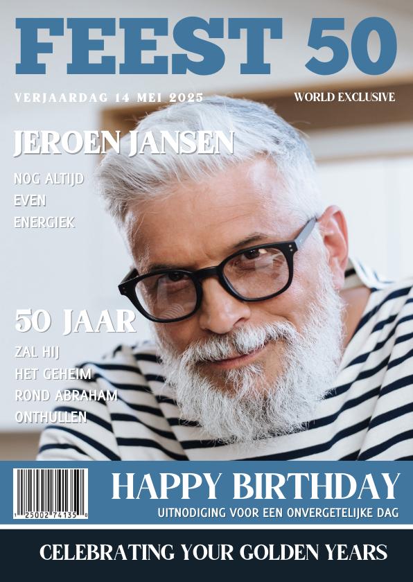 Abraham Uitnodiging 50 jaar Tijdschrift 1