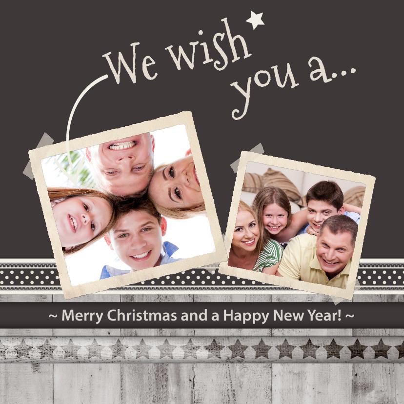 Antraciet Merry Christmas! - BK 1