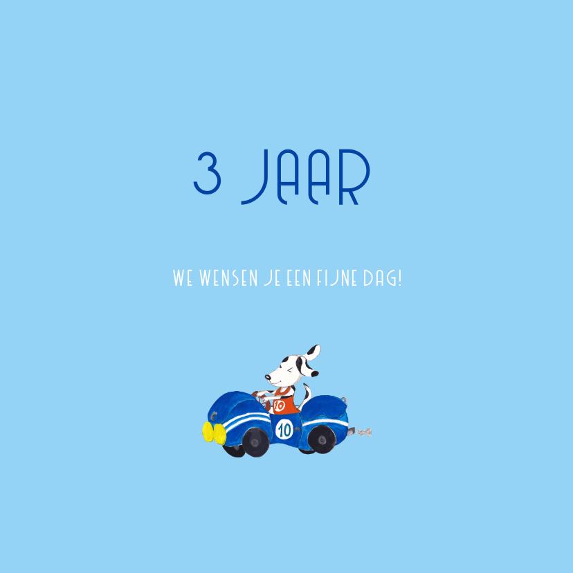 Auto Verjaardag drie jaar jongen 3