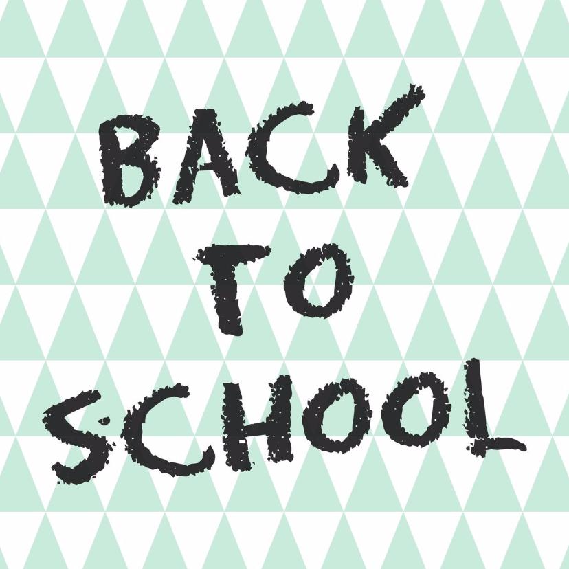Back to school Kaart - WW 1