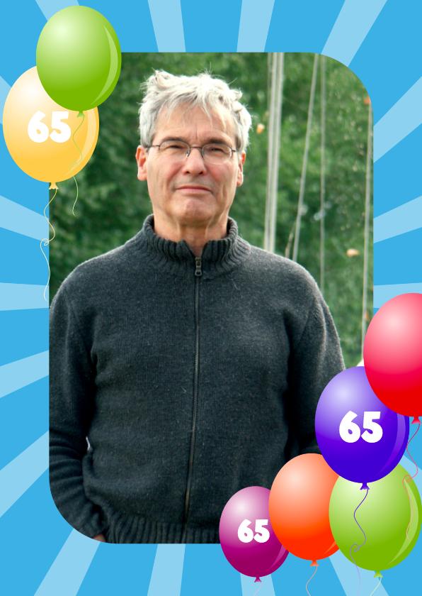 Ballonnenkader 65 jaar 1