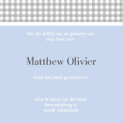 Bar creatief - Olivier label 3