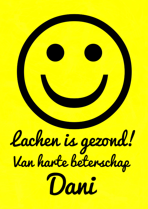 Beterschap BIG SMILE IW  1