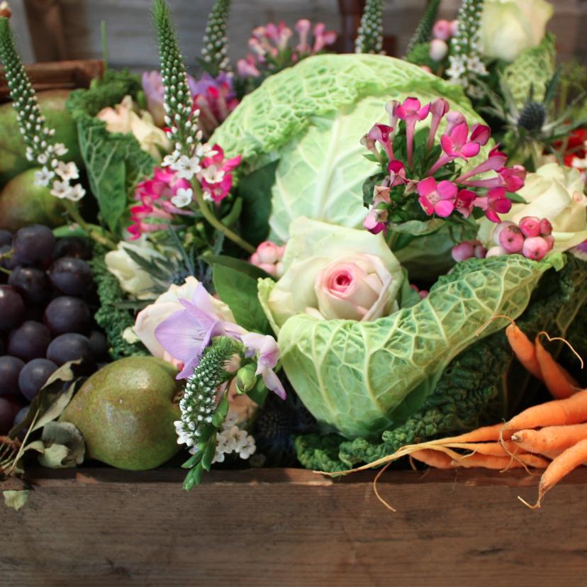 Beterschap fruit en groente mand 1