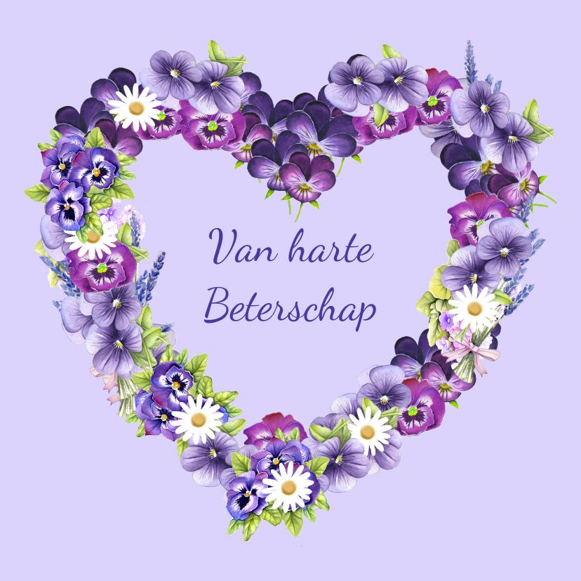 Beterschap hart bloemen 1