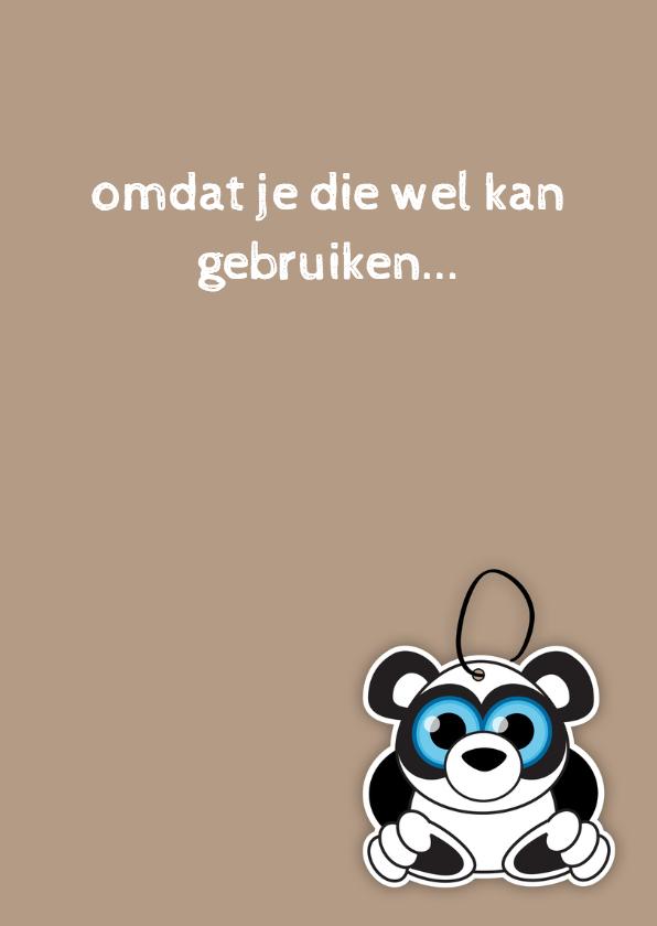 Beterschap knuffel panda - MG 3