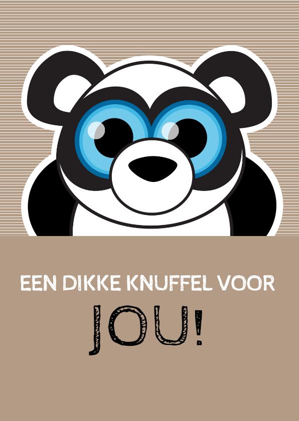 Beterschap knuffel panda - MG 1