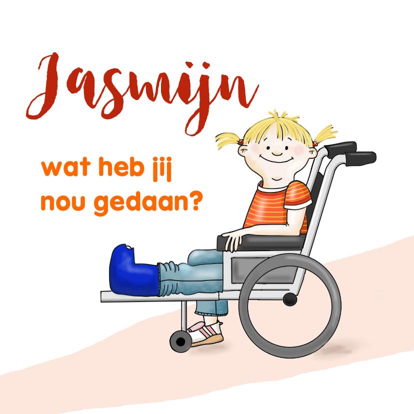 Beterschap meisje rolstoel 1