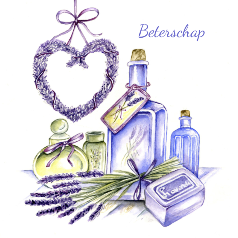 Beterschap met lavendel 1