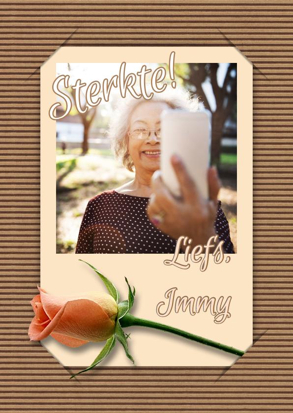 Beterschap selfie en bloem RB 1