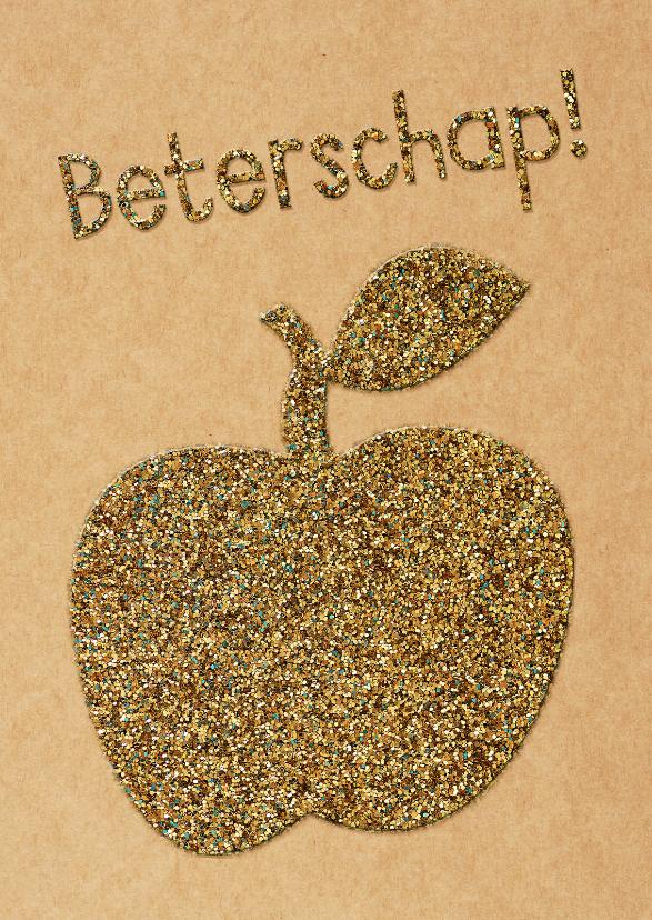 Beterschaps appel glitter look  1