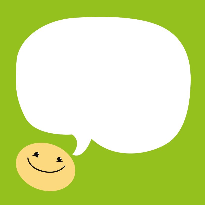 Beterschapskaart smiley 3