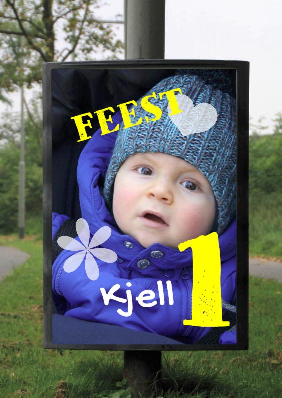 billboard foto jongen 1