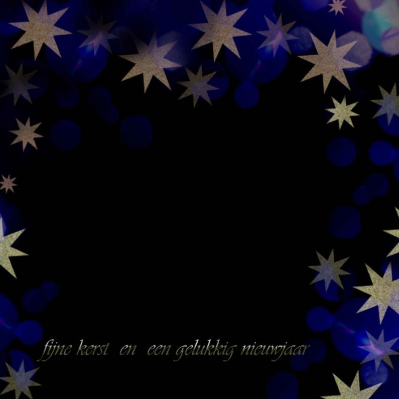 Blauw zwart kerst 1