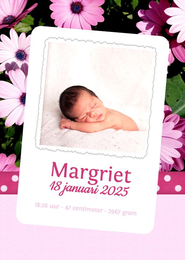 Bloemenkaart Margriet - BK 1