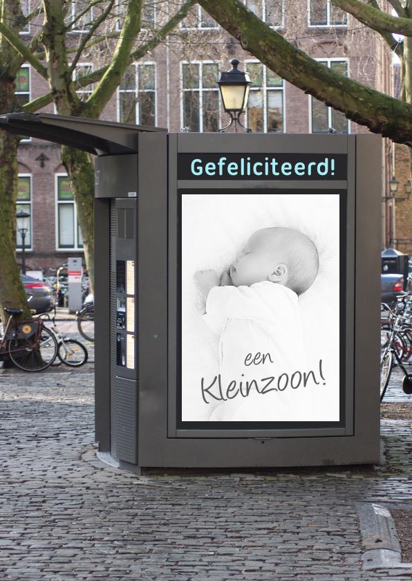 bord foto geboorte jongen 1