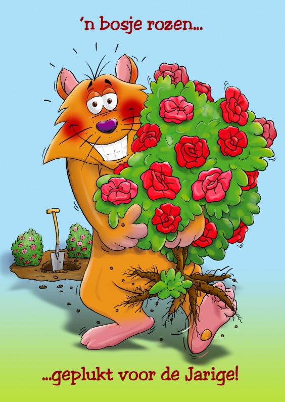 Bosje rozen leeuw 1