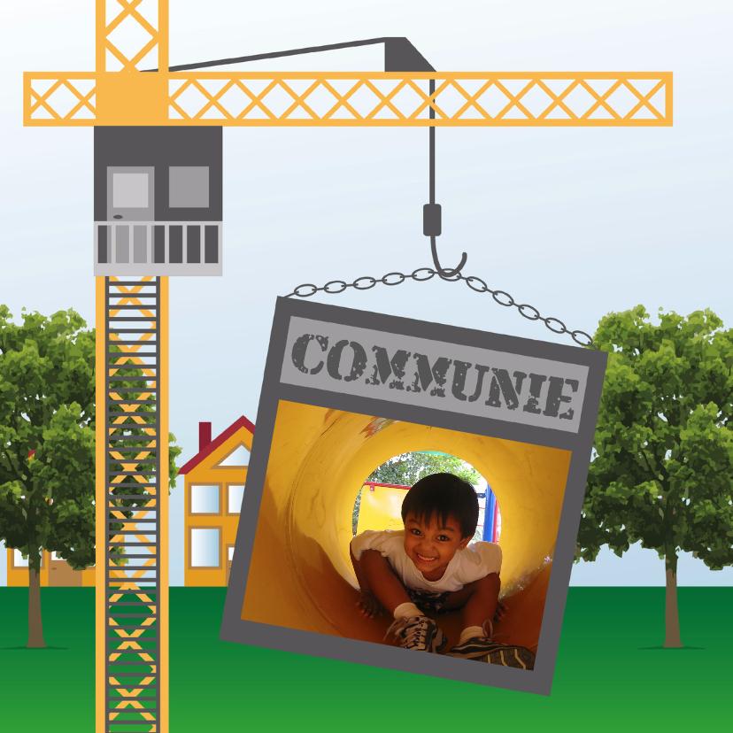 Bouwkaart Communie - Remco 1