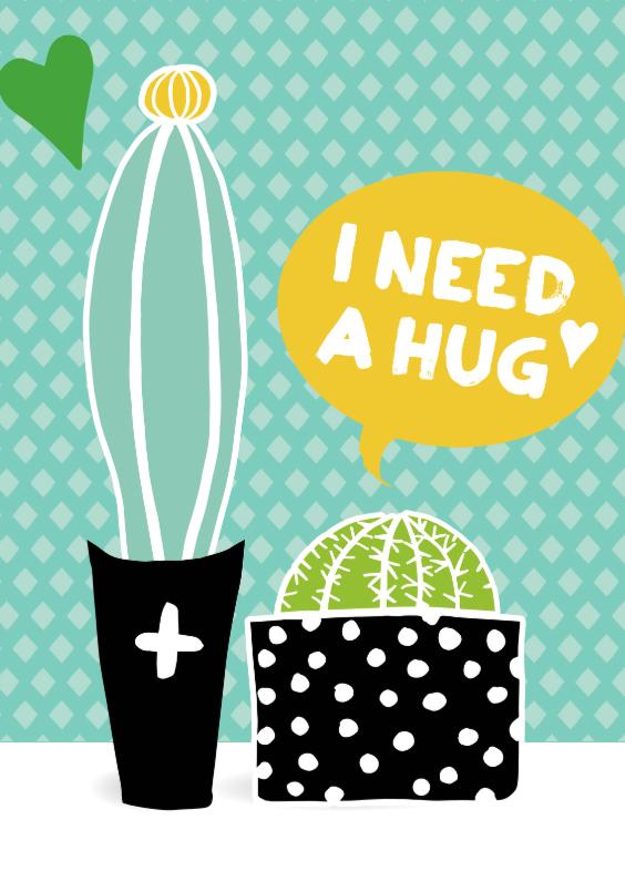 """Cactissimo """"I need a hug"""" 1"""
