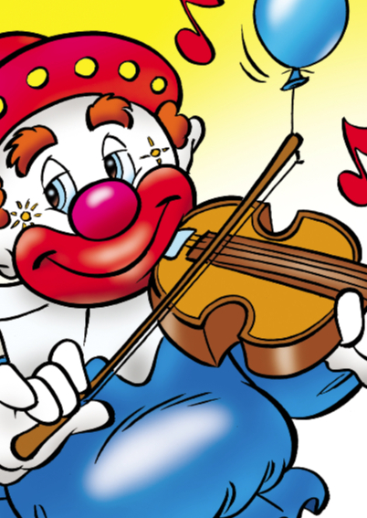 clowns verjaardag 6 kinderclowntje 2