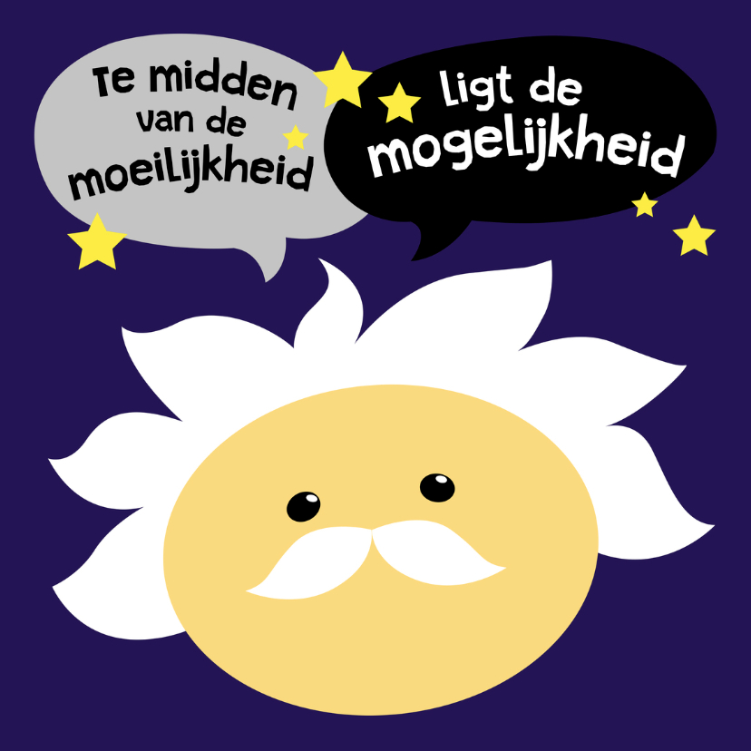 Coachingskaart Einstein smiley