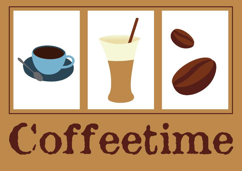 Coffeetime kaart 1