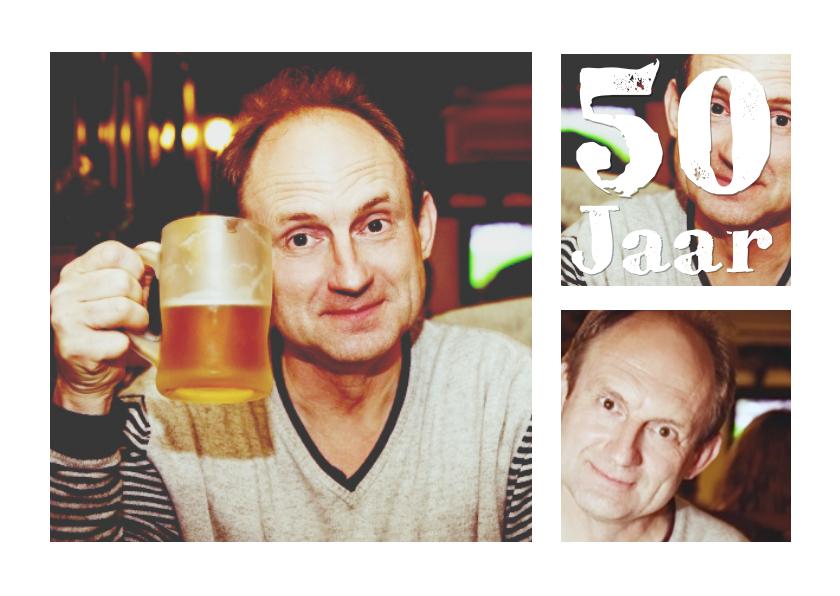 Collage Verjaardag 50 jaar - BK 1