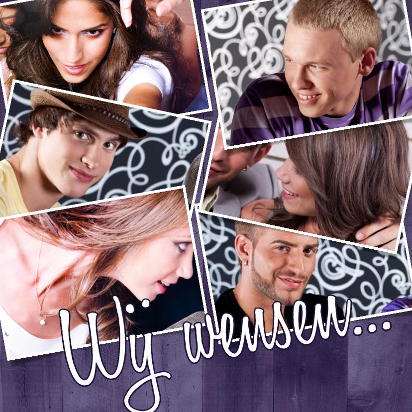 Collage Verjaardag 7 foto's - BK 1