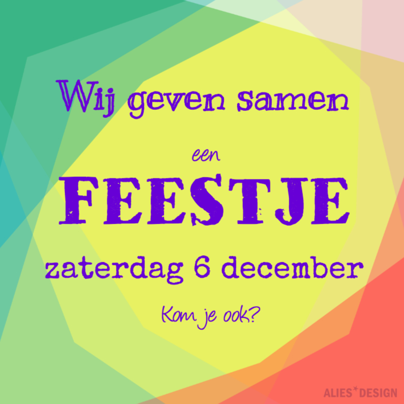 COLORFUL FEEST 1