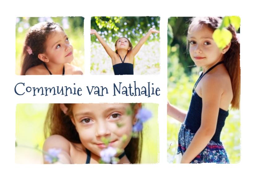 Communie collage 4 foto's - BK 1