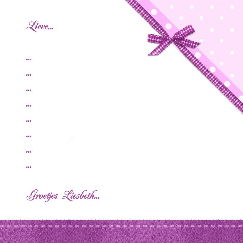 Communie met paarse lijst - BK 3