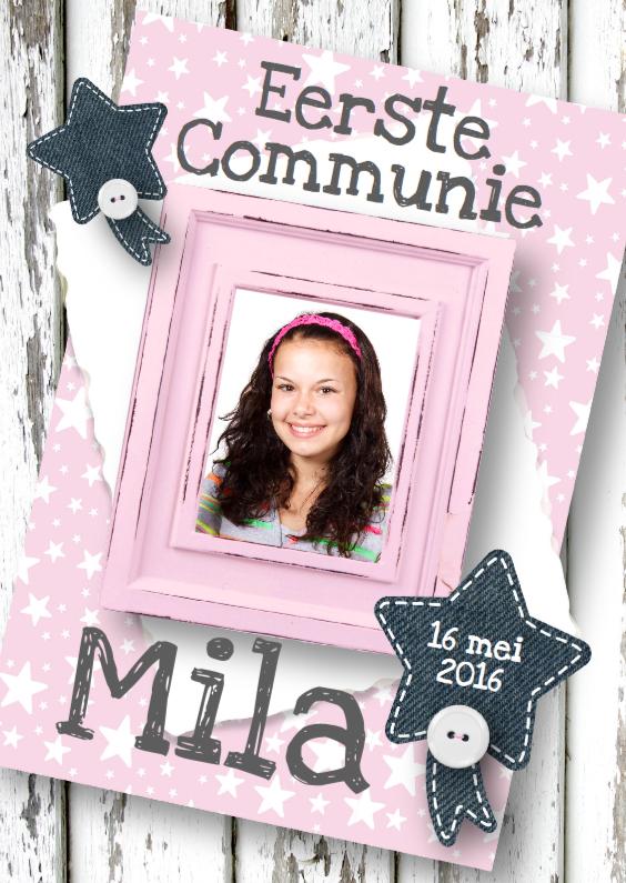 Communie Pink Stars & Wood 1