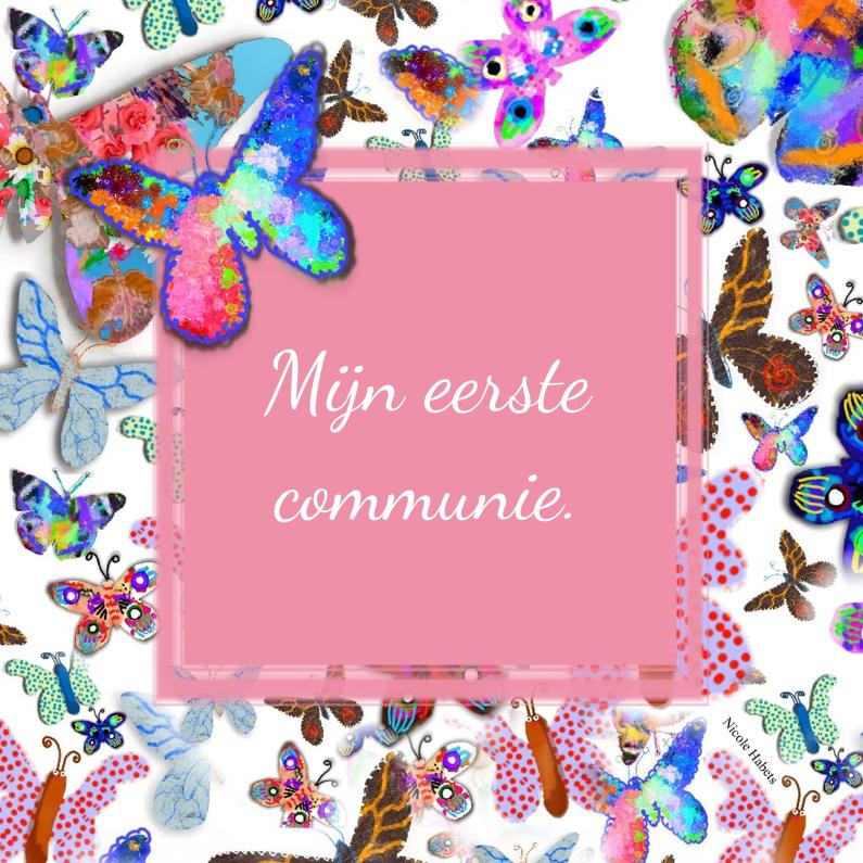 Communie vlinder 1