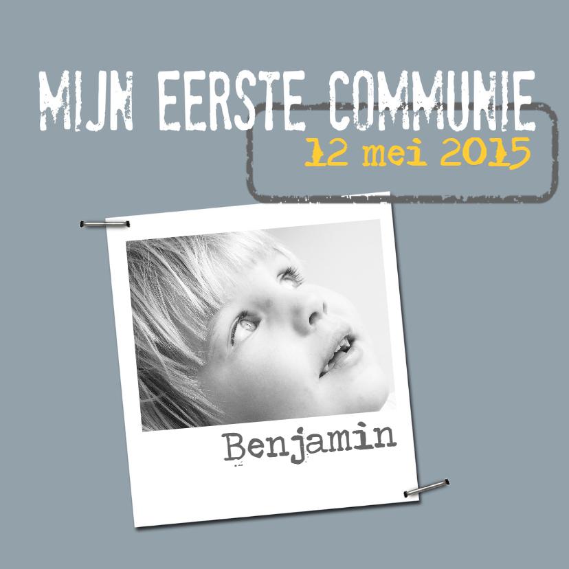 Communiekaart Benjamin 1