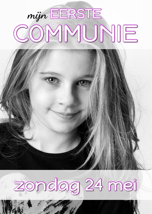 Communiekaart Cover Magazine 5 1