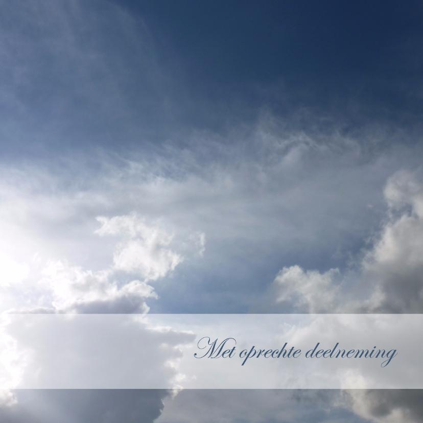 Condoleancekaart donkere wolken2